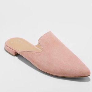 "NWOT A New Day ""Velma"" Pink Mules Sz 9.5"